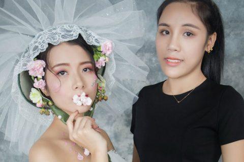 伊丽莎白化妆学生陈月梅作品