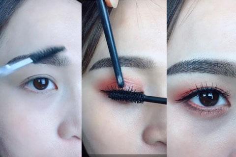 最新眼妆三步化妆视频教程,迷人眼妆全在这里
