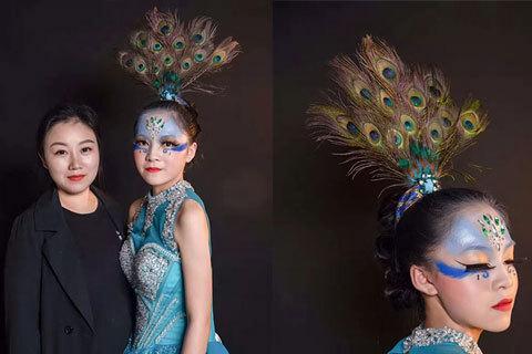 三款学员毕业化妆作品体验一种热爱生活的态度